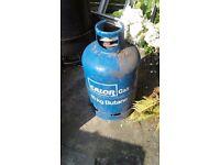 Full bottle of butane calor gas. Located near Gospel Oak, NW3.