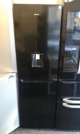 HISENSE FROST FREE FRIDGE FREEZER WHYH WATER DESPERNSER
