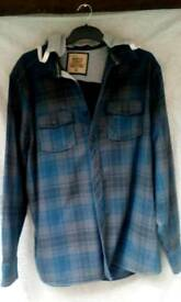 Mens hooded shirt size XL