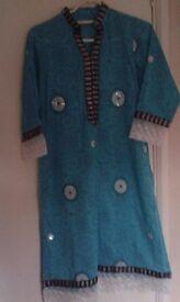 Asian/Pakistani/Indian stitched 3 Piece suit dress
