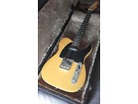 Butterscotch Telecaster Partscaster Fender parts
