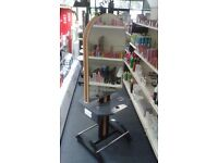 Hairdressing Olymp Double Sided Mirrored Island Unit, 5 Available, Delivery Offered