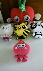 Moshi monster cuddlys