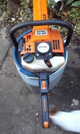 Sthil HS80 Petrol Hedge Cutter in excellent condition