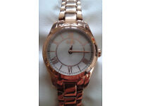 Brand new Ladies Hugo Wristwatch crafted with quartz movement. Never worn. Still in packaging.