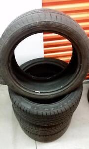(E40) Pneus Ete - Summer Tires 245-45-19 Goodyear RunFlat 6-7/32