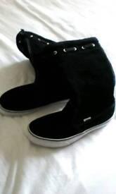 Vans ladies boots size 5.5