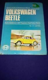Original owm for vw beetle (1973)