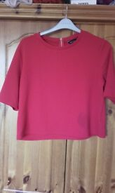 Red top ladies size 16