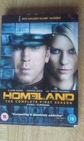 Homeland Box Set DVD 4 Disc's Complete 1st Season