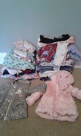 1 - 2 year old girls clothes bundle