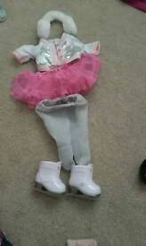 5 sets of baby born dolls clothes