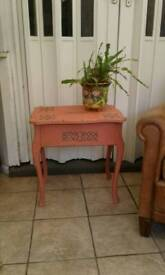 French style side table, shabby chic