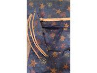 Curtains Pelmets and tie backs