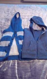 Winter hoodies age 2-4yrs