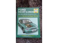 Ford Escort and Orion Haynes Manual