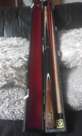 i have 1 riley cue complete withcase and chalk and a 3 pieced cue forsale excellent condition