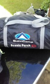 Suncamp scenic awning porch