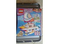 Lego set Friends Sunshine Catamaran 41317 (new, sealed in mint condition)