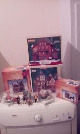 Lemax Chtistmas village bundle/can buy individual pieces\Accept Offers