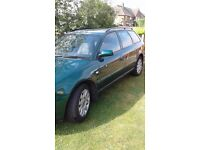 Audi A4 estate automatic,10 month mot,good confition,runs really well