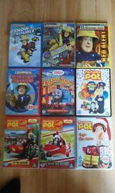 Childrens DVD Bundle (Boys)