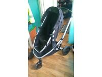 xpedior mothercare pram pushchair, travel set