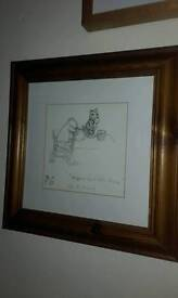 Ernest howard shephard winnie the pooh sketch and illustrations