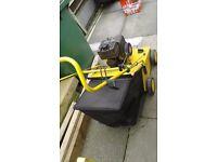 Petrol scarifier petrol hover mower