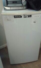 Small fridge + small freezer
