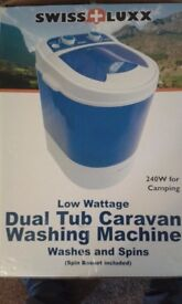 For Sale Swiss Lux Caravan/Camping Washing Machine