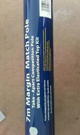 Brand new 7metre carp take apart margin pole