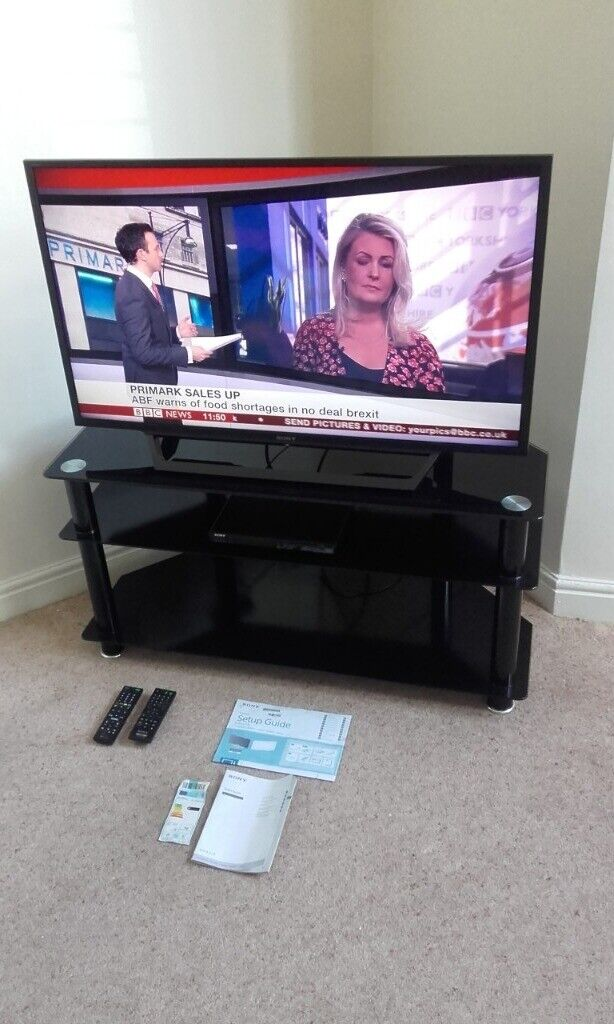 Sony Bravia 40 Inch Full HD TV with Black Glass Stand Local Delivery  Possible | in Cheadle, Manchester | Gumtree