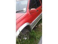 grand vitara 20td spares or repairs