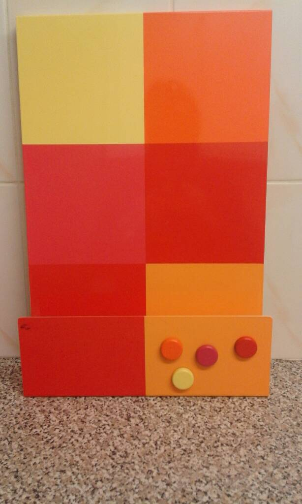 Multi Coloured Metal Memo Board With Magnets From Next In Paignton Delectable Next Memo Board