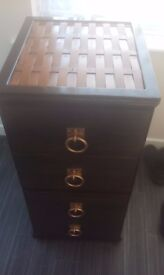 Chest of drawers (hand built)