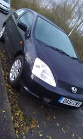 Honda Civic SE Sport 1.6 Black 2002