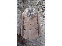Sheep skin coat with pure lambs wool lining