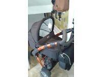 Abc Design 3tec Pram Buggy Car Seat Used