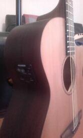 Faith Venus Electro Acoustic Cedar and Mahogany guitar