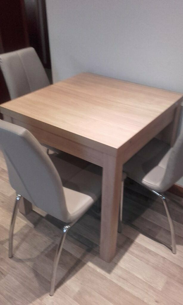 next kitchendining table and 4 chairs  in forfar angus