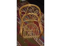 Kids wicker chair/seat