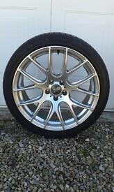 """19"""" Alloys and tyres"""