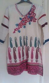 Asian /Pakistani/Indian stitched kurti shirt
