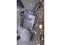 Vauxhall corsa/ combo airbox with airflow metre £10