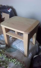 Small stool or side table