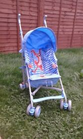 Push chair, nice blue