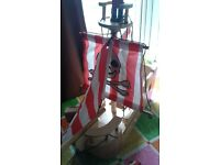 Wooden Pirate Ship £8