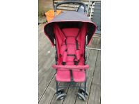 Hauck Black/Red Stroller