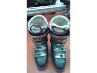 Solomon Irony8 Quality Ski Boots Custom Fit Great Condition Size 24/24.5